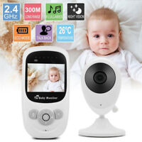 "2.4"" LCD Wireless Digital Video Baby Monitor Camera Night Vision Audio 2.4Ghz"