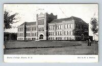 Huron SD, Huron College, South Dakota, Vintage Postcard Z61