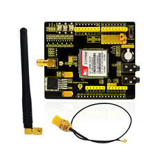 New! SIM900 Quad-Band GSM/GPRS Module Expansion Shield for Arduino UNO MEGA