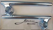 Universal clip-on bars fit 35mm fork tubes 15% angle - Menani Racing AM404-35-15