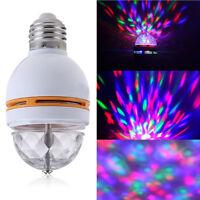 LED RGB Lampe Dekoration Leuchte Party Lichteffekt Discokugel Sprachsteuerung