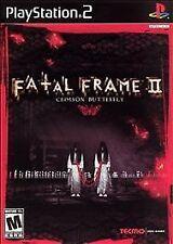 Fatal Frame II: Crimson Butterfly (Sony PlayStation 2, 2003)