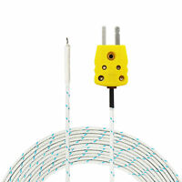 4 Meters Long K-Type Probe for K-Type Thermocouple Sensor up to 400°C/ 752°F