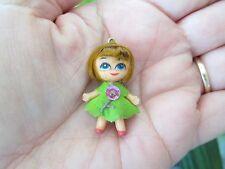 Rare Vintage Mini Doll Jewelry Clone Liddle Kiddles Minature 1960 Charm Necklace