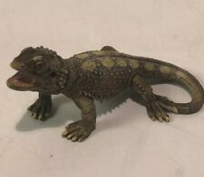 Schleich Bearded Dragon Pogona Lizard 14675 2011 Retired Figure Animal