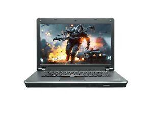 "Lenovo Edge 15 Gaming Laptop 15.6"" Core i3 2.53Ghz, Webcam, HDMI, Windows 10"