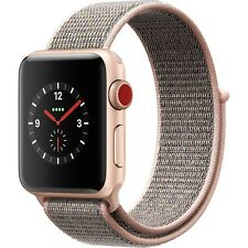 Apple Watch Series 3 38mm Gold Pink Sand Loop (GPS + Cellular)