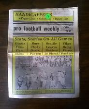 VOL. XII, NO. 12 - Pro Football Weekly Newspaper (1978)