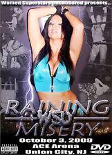 WSU Womens Wrestling - Raining Misery DVD Rain TNA Portia Perez Shimmer