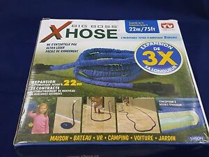 Hose Big Boss Xhose Expandable up to 75 feet
