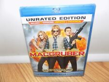 MacGruber (Blu-ray Disc, 2010, Rated/Unrated) BRAND NEW, SEALED!