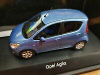 Opel Agila Mk2 2008 Blu Metallizzato - Scala 1:43 Die Cast - Opel  - Nuova