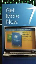 Microsoft Windows 7 Home Premium to Professional Upgrade X15-80592-01 (Z3E)