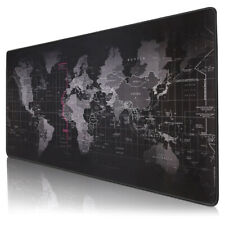 Gaming Mauspad 800x300mm Schreibtis chunterlage Gross Mousepad Office Weltkarte