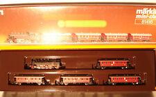 Marklin  Z:  81416  Passenger Train Set with Steamloco  cl. 86
