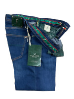 Jeans Tramarossa Modello LEONARDO ZIP - Denim  SOFT TOUCH - Uomo - Listino 325