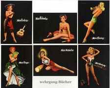 Berca, Postkartenserie, Musical-studio Hamburg um 1960.