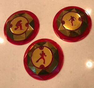 ELVIS (Stern Pinball) GOLD CHROME POP BUMPER DECALS METAL-MODS