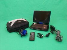 """AUDIOVOX DS9849 9"""" SWIVEL WIDESCREEN PORTABLE DVD PLAYER WITH ALL ACCESSORIES***"""