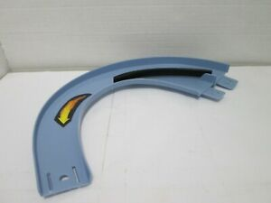 Curve Ramp Lane Reducer w/ Paddle - Rigid Track Section - 1pc