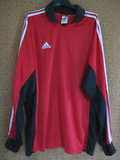 maillot adidas vintage rouge en vente | eBay