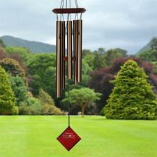 "Woodstock Chimes Of Polaris Wind Chimes, Bronze, 22"" Total Hanging Length #dm"
