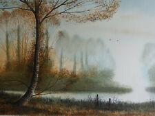 Gilles FIGUIER  - Paysage de printemps - LITHOGRAPHIE originale signée #320ex