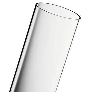 ACTIVA Heizstrahler Glasröhre102 x 10 cm Pyramide Pelletfackel Duran Schott Glas