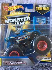 Bnib Monster Jam Hot Wheels Flashback Truck 1:64 size Diecast New Nib