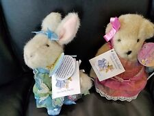 Vanderhare Fabearge Egg Collection Muffy and Hoppy Nabco