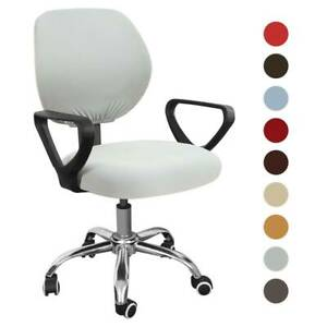 Split Computer Office Chair Covers Slipcover Cover Seat Rotat Task Desk Stretch