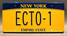 Ghostbusters 3 / '80s Cadillac Hearse / 2016 ECTO-1 *STAMPED* Prop License Plate