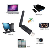 USB Wifi Adaptateur Sans Fil Antenne Dongle TV BOÎTE ZGEMMA F5S V8S M3 M4 BM