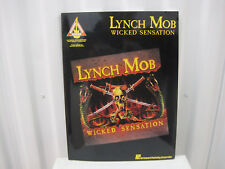 Lynch Mob Wicked Sensation Sheet Music Song Book Songbook Guitar Tab Tablature