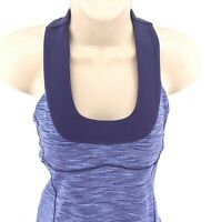 Lululemon Blue Sz 6 T Strap Tank Top Activewear