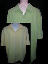 Lot Of 2 TOMMY BAHAMA Polo Rugby Shirts Mens Short Sleeve Green Sz Orange XL