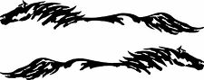 5.5x32   Horse Pony Decal Truck Trailer Car Graphic Set of 2