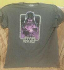 Star Wars Official Darth Vader T Shirt Gray size 2X