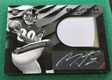 2019 Black Football Miles Boykin Auto Rookie Patch Autograph White Ink Raven /75