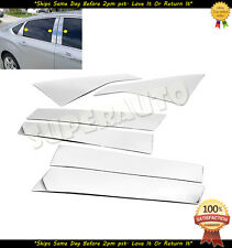 For 2014-2017 Chevrolet Impala Stainless Polished Pillar Posts Trims Chevy 15 16