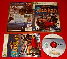 CABELA'S ALASKAN ADVENTURES XBOX 360 Versione Italiana 1ª Edizione ○ USATO - FG