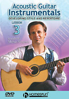 Acoustic Guitar Instrumentals Learn to Play Irish Folk Lesson Music DVD 3