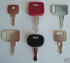 !6 JD Keys - John Deere Heavy Equipment Key Set!