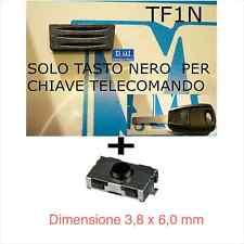 GOMMINO TASTO NERO PER CHIAVE TELECOMANDO FIAT PUNTO 500 DOBLO STILO + 1 switch