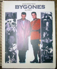 "Due South Fanzine ""Bygones 1, 3, 4"" SLASH Novel"
