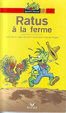 Ratus à La Ferme * GUION * RATUS ROUGE 41 * CE1 * Premières lectures VOGEL roman