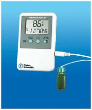 NEW FISHER SCIENTIFIC 06-664-11 TRACEABLE REFRIGERATOR FREEZER ALARM THERMOMETER