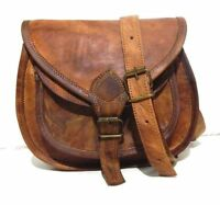 Vintage Leather Messenger Women Hobo Purse Tote Handbag Satchel Cross body Bag