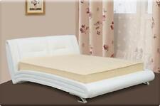 Wasserbett Bett Betten Komplett Lederbett Polsterbett mit Matratze Neu Komplett