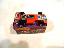 Matchbox #36 Formula 5000 Orange in Original J Box